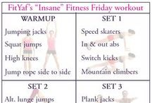FitYaf   Fitness Friday Workouts / Great workouts for all levels