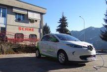 SCAME PARRE 100% ELECTRIC WITH ZOE  / Ecco la new entry Zoe, la berlina elettrica che si ricarica con i prodotti Scame Serie Libera, tutti certificati ZE Ready 1.2 da Renault
