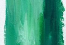 Color of the Month - March 2015 - Emerald Green / Colors play such an important role in our daily lives. I thought this would be a fun and creative way to share my love of colors with you! / by Linda A. Kinsman