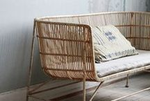 Natural Living / Bring the outside in with nature inspired decor.