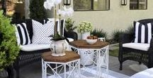 Outdoor Living / Your outdoor living spaces should be an extension of your home. Blur the lines between living room and lawn with outdoor furniture and accessories that create an inviting place to unwind after work and entertain under the sun or stars.
