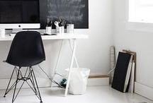 Office: Workspace Inspiration / Workspace design, office space at home - the love of an imaginative workspace to grow in! Office Space Ideas and Inspiration! #office #officefurniture #desk