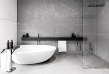 Bathroom Ideas To Love / Great bathrooms with great bathroom ideas, tiling ideas, tiling suppliers and bathroom fitting suppliers. #bathroomideas #baths #taps #tiling #tiles / by Design Library AU - Interior Design & Renovation