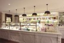 Beautiful Patisseries / Baked goods are my weakness. As my husband says we could be anywhere in the world and I will always be able to scout out the best patisserie in the area. So what a priviledge when a friend asked me to help redesign his patisserie / by Nancy Breslin