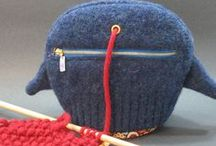 Knitting and Crochet:  Techniques, tools and tricks / Tips on everything from organizing your tools to advanced techniques fir knitters and crocheters.