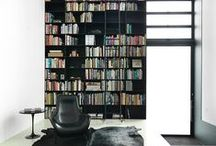 Libraries and Shelving / Creating a library at home with fantastic shelving design