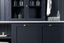 Loving Black Design Style / Loving the use of black in inteior design - loving black style