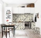 Wall Design | KITCHEN / Wall Murals & other ideas for kitchens