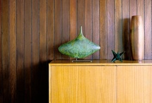 Mid Century sideboard display inspiration / by Ashley Schoenknecht