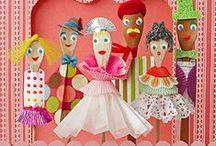 Puppet making / by Nancy Breslin