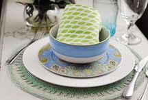 Happy Spring Entertaining  / Mix it. Match it. Love it! Save on everything to create one-of-a-kind place-settings. Not sure where to start? Here are some tips! Choose one main color to build around. Mix it up by using pieces with multiple colors. Pair modern and traditional prints to add visual interest. For more inspiration, check out our pins below! / by HomeGoods