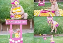 Pink lemonade party / For Emme, because she is sooo cute / by Nancy Breslin