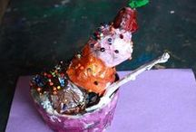 My students / I love working with children, here are some of their fabulous creations. / by Nancy Breslin