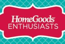 HomeGoods Enthusiasts / Our enthusiasts are savvy shoppers with an eye for style, sharing how they're using HomeGoods finds in every inch of their home! They are sharing tips for organizing, holiday decorating, easy style updates, hosting like a pro and everything in between!  / by HomeGoods