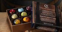 Oregon Distiller's Collection / A nine-piece collection of truffles featuring spirits from five of Oregon's finest craft distillers.   Product contains approximately 2.5% alcohol content (by weight).