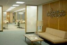Mid century office / Inspiration for an office design / by Nancy Breslin