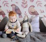 Wall Design | NURSERY / Discover amazing nursery room ideas! <3