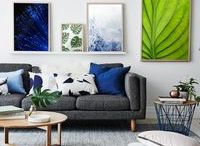 Beautiful Wall Galleries / Photo Gallery Walls - inspiration and tips for your own photo gallery wall!