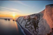 The Needles Sunsets, Isle of Wight / Stunning sunsets photographed over The Needles and from Alum Bay, Isle of Wight.