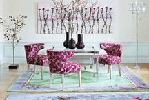 PANTONE'S Color 2014 Radiant Orchid / Radiant Orchid as a Trend Colour in 2014. This colour is both modern & feminine. It's also vibrant & energetic! Look how to use it in your interiors!