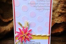 Flower patch SU / This stamp set has a co-ordinatingFramelit. For all your Stampin Up goodies  - current items available to purchase from http://bagsthatone.stampinup.net/