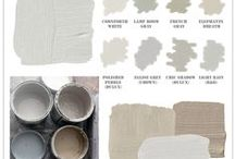 Designer Colour Pallets / Colour pallets to make the job of selecting colours a lot easier!  #paint #paintcolours #color #colorideas