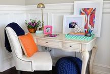 Home Office / Today, your home office can be anywhere: a room, a hallway nook, a kitchen counter. Make your workspace work harder – get creative with decor, get organized with containers and get tips below. Then get to HomeGoods and save on it all!