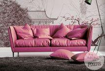 PANTONE'S Color 2015 Marsala / PANTONE Color of 2015 – Marsala in Interiors ♥ www.pixersize.com