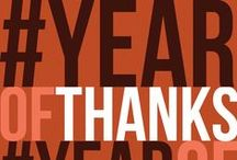 #YEAROFTHANKS / Purposely living a life of gratitude all year long. Join with us on social media using #YEAROFTHANKS / by Joyce Meyer Ministries