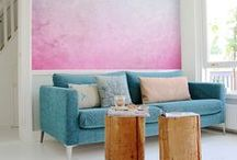 PANTONE Colors 2016 | Rose Quartz & Serenity / PANTONE Coolors of the Year 2016 in Interior Design #homedecor