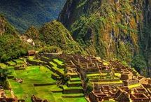 Lugares América Latina - Latin America Places / Lugares e paisagens da América Latina
