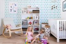 Wall Design | KIDS' ROOM ♥ / We have hundreds of ideas for arranging a kid's room. Check them out and prepare a wonderful surprise for your kid! <3 www.pixersize.com