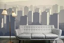 Wall Décor | ARCHITECTURE / Wall murals & prints with architectural motives by PIXERS