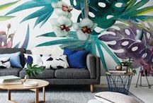Summery Walls | PIXERS / Wall murals & posters perfect for summer home - and ideal to remember the sunny summer days for the whole year - by PIXERS