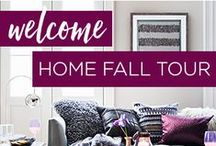 Welcome Home Fall Tour / 8 bloggers. 8 home tours.  Endless possibilities.