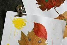 Manualidades de otoño / Fall craft for kids / Manualidades para niños