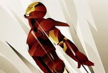 Iron Man ///  / The best designs, illustrations, images, products, etc. featuring Iron Man. / by Torrey Anderson