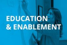 Education & Enablement / Check out these important training and enablement tips, best practices, activities, and resources.
