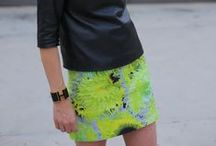 Neon / Neon and bright colors combat dark moods or days.