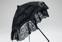 Umbrellas around 1840-1850