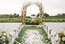 Ceremony Decor / wedding ceremony decoration ideas and inspiration