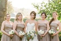 Neutrals / neutral colored wedding inspiration
