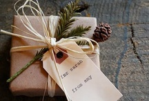 reuse wrapping ideas / by Kirsten Hudson