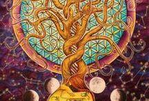 art ▲ pagan + divine feminine + ayahuasca