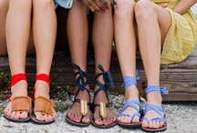 Flat Sandals / For getting around town and this summer.