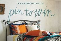 Anthropologie Dream Bedroom / Blushing Beauty! #Anthropologie #PinToWin
