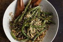 Green Bean Recipes / Vegetarian green bean recipes / by Naturally Ella