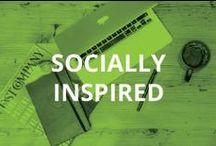 """Socially Inspired"" / Insights and quotes from leaders in digital marketing, social media, community building, and inspiration! / by Hootsuite"