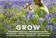 Grow: May 2015 issue / New shoots abound. Not just in the garden and the forest but in our daily lives. Enjoy a leafy brunch with friends and let the wisdom of others inspire you to grow tall and strong. It's a time to plan your weekend over a morning cuppa, then pull on your wellies and be outdoors. Fling open the French windows, peg the washing on the line and head off to find a wild garden. There are tomatoes to grow, cow parsley to gather and tents to pitch. Life's good when you remember The Simple Things.