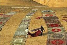 RUGS / KILIMS / I am a nomad from Chad, and we love rugs and kills especially hand woven ones.  They give cachet to any interior. Here is a selection of some of my favorite.